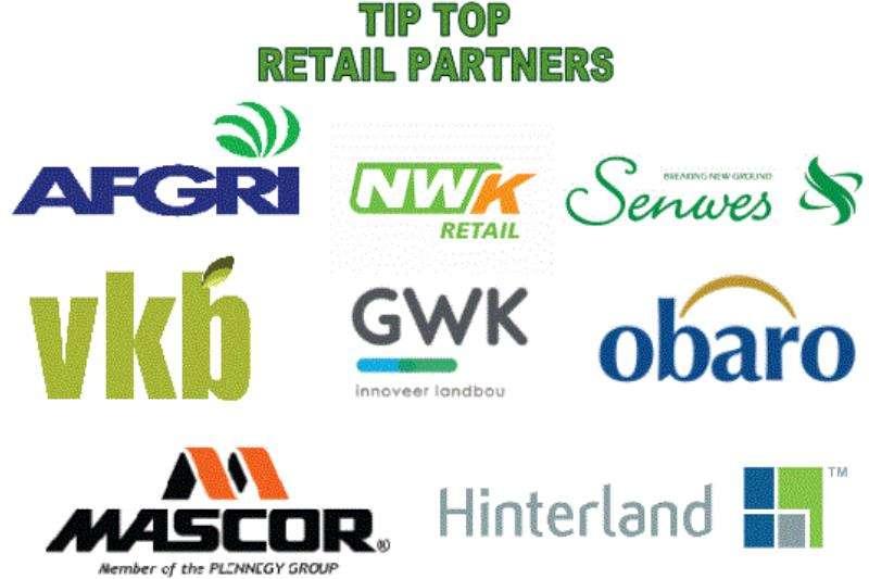 TIP TOP CANOPIES Retail Partners Tractors