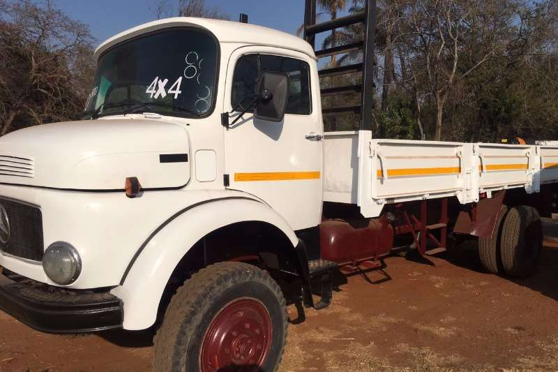 Trucks Mercedes Benz 1214 4X4 0