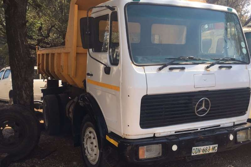 Mercedes Benz Tipper Trucks