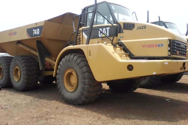 CAT Caterpillar 740 ADT ADTs