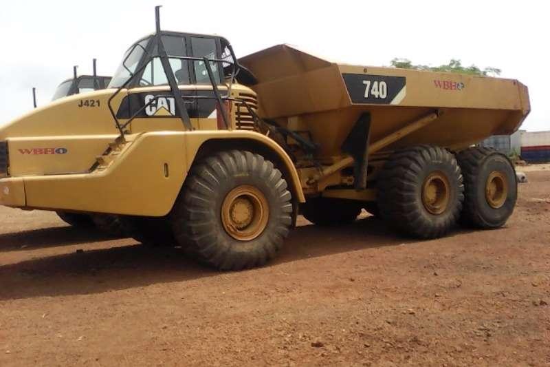 CAT Caterpillar 740 ADT ADTs