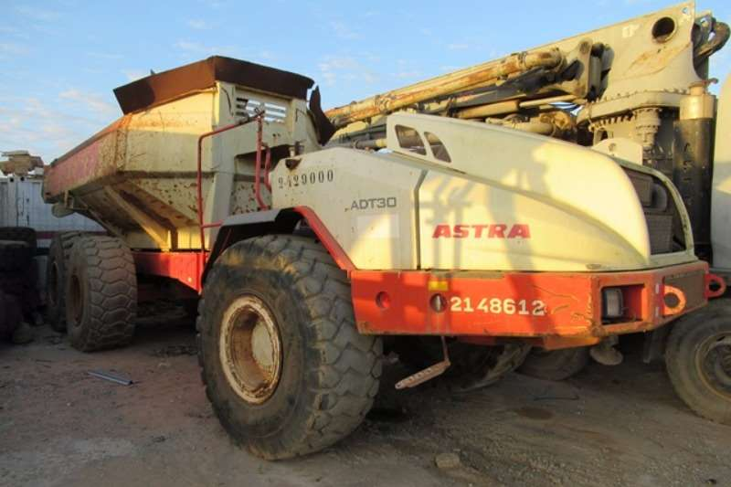 Terex Astra ADT30, Stripped Articulated Dump Truck ADTs