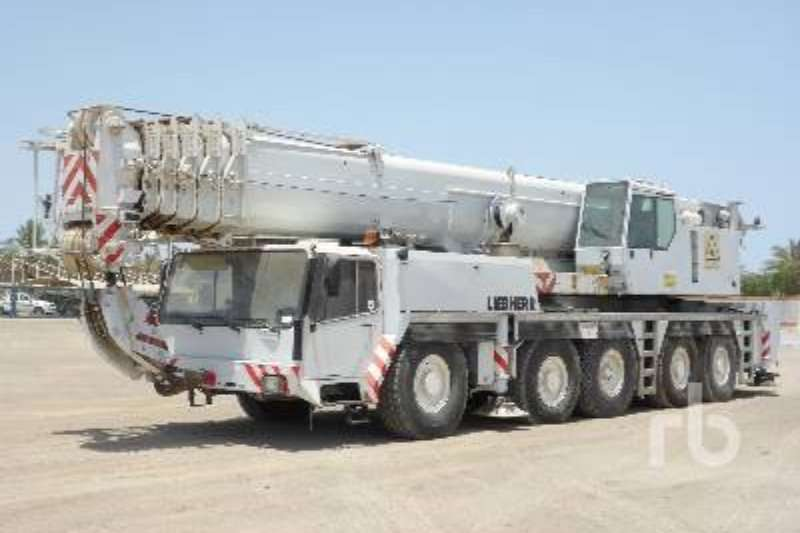 Liebherr LTM1160 All terrain crane