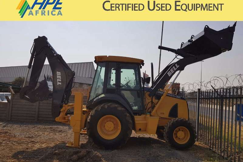Backhoe Loader Bell 315SJ 2008
