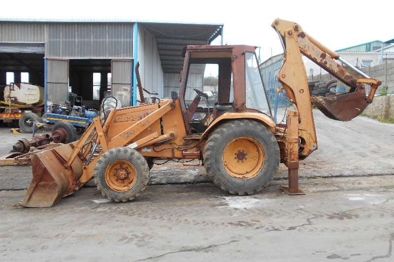 Backhoe Loader Case Case 580 Super K 4x4 1992