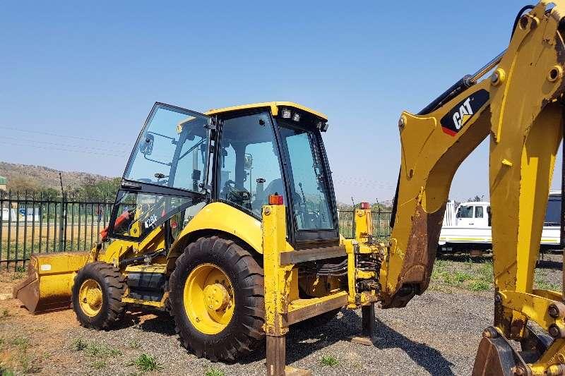 Caterpillar 428F 4x4 Backhoe loader