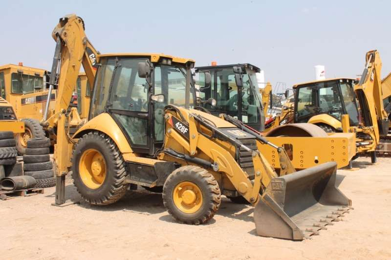 Backhoe Loader Caterpillar 428F Backhoe Loader 2014
