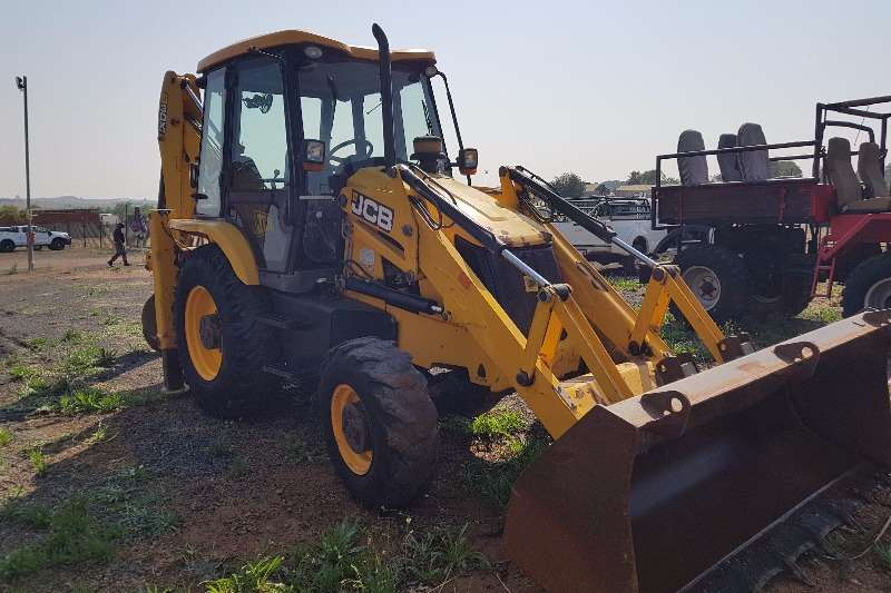 JCB 3DX 4x4 Backhoe loader