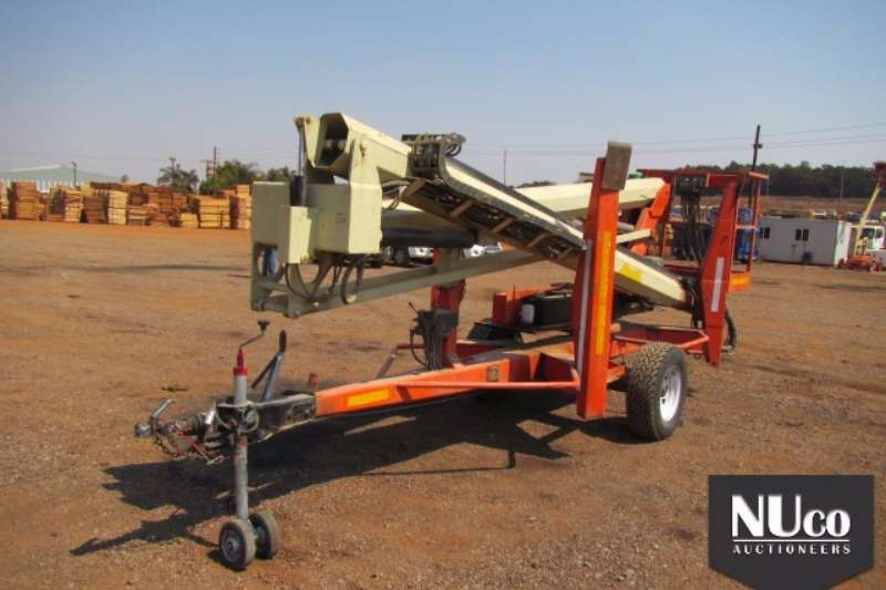 Nifty NIFTY TM50HG 16M TRAILER MOUNTED CHERRY PICKER Boom lifts