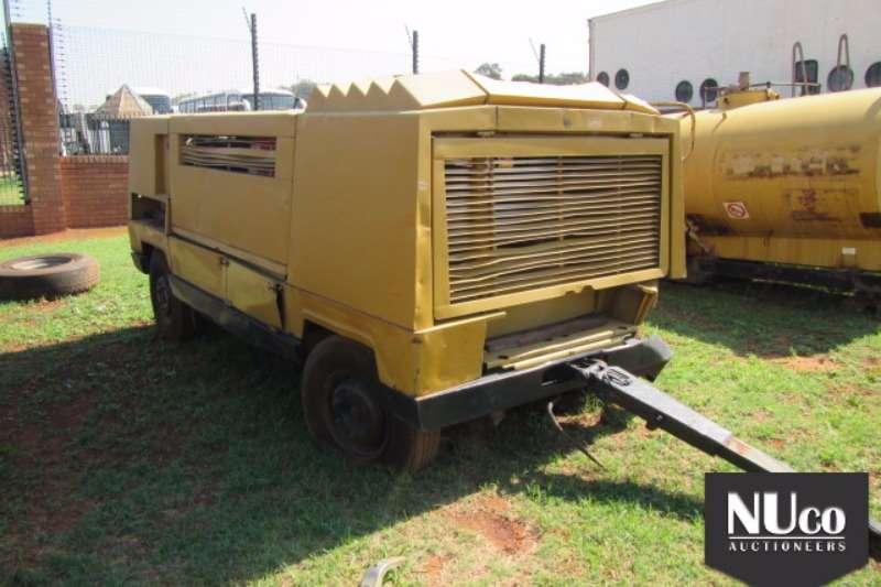 MOBILE AIR COMPRESSOR Compressors