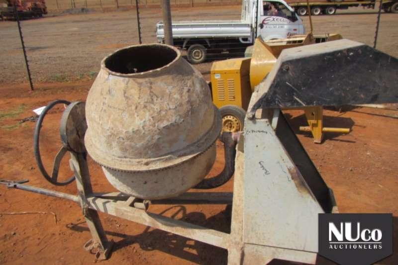 CONSTRUCTION - CONCRETE MIXERS Concrete mixer