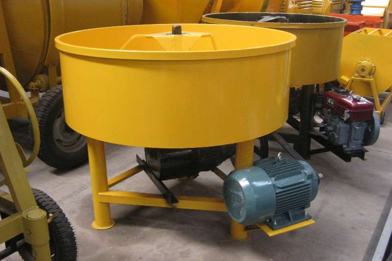 Pan Concrete Mixer 750L electric Concrete mixer