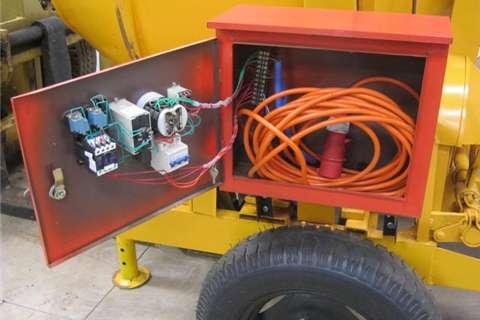Sino Plant 560Kg Electric Concrete Mixer with Cable Skip Concrete mixer