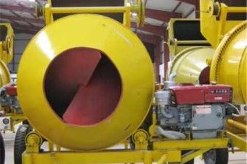 Sino Plant 800Kg Diesel Concrete Mixer with Cable skip Concrete mixer
