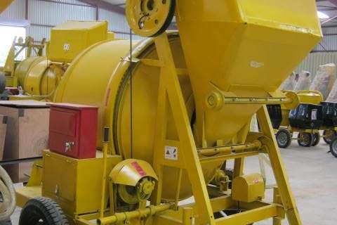 Sino Plant 800Kg Electric Concrete Mixer with Cable Skip Concrete mixer