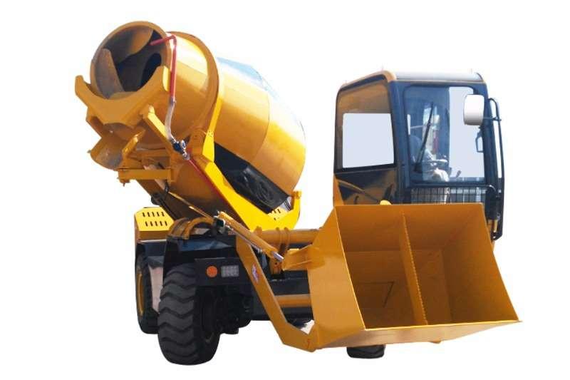 Sino Plant Mobile Self Loading 4x4 Concrete Mixer 5400L Concrete mixer