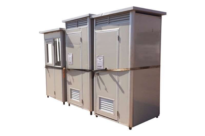 Sino Plant Sandwich Panel Single Room Unit   Guard House Containers