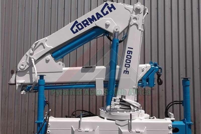 Cranes Cormach Truck mounted 16000E 0