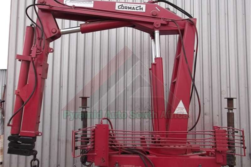 Cormach Truck mounted Ghibli 50 Cranes