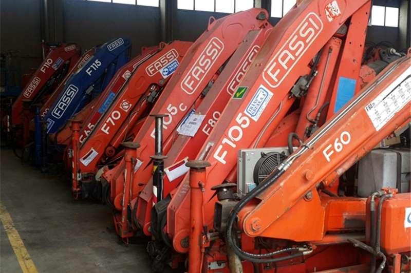 Fassi Truck mounted Various Cranes Cranes