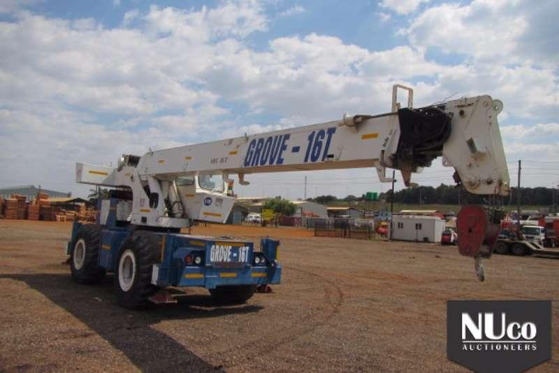 Cranes Grove GROVE 16 TON MOBILE CRANE 0