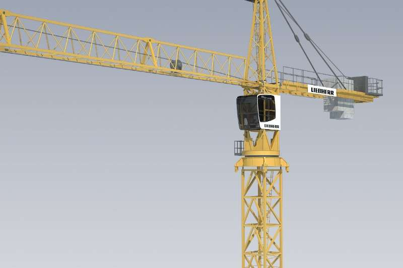 Cranes Liebherr Rough Terrain Used 3 Ton Tower Cranes Available 0