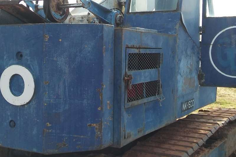 Cranes Other Kato 16 ton Hydraulic Crane on Tracks 0