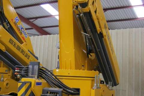 Other Truck mounted 16 Ton Meter Crane Cranes