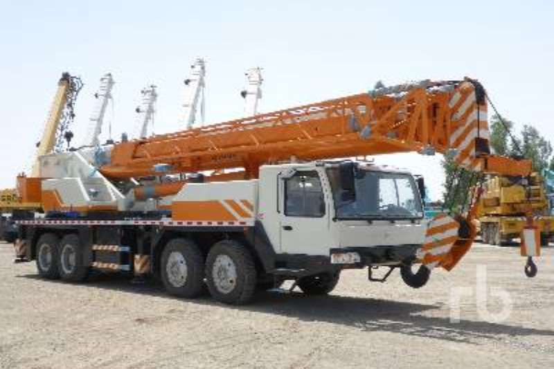 Other Truck mounted QY80V Cranes