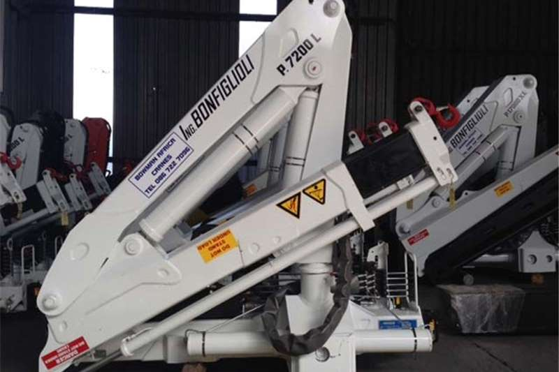 Other Truck mounted Used Bon P7200L crane Cranes