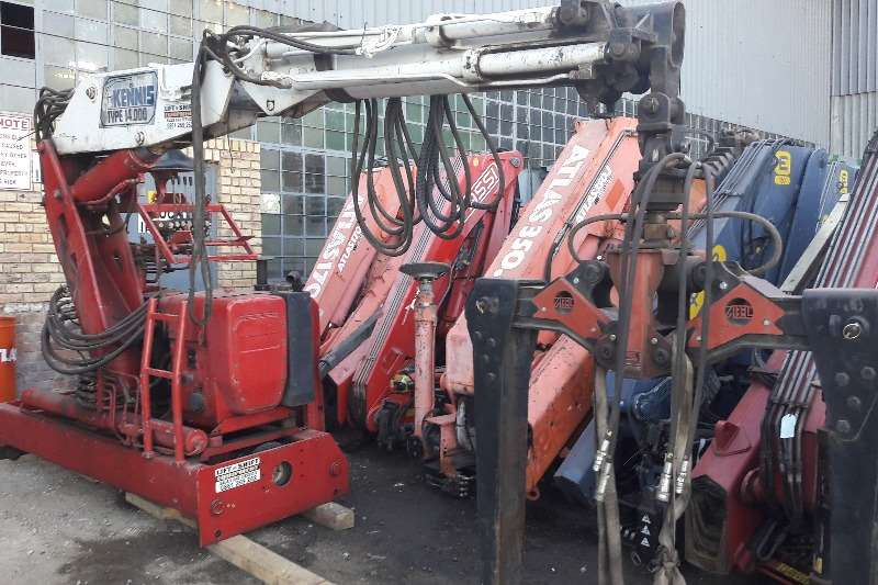 Other Used Kennis 14 Ton Crane with Brick Grab Available Cranes
