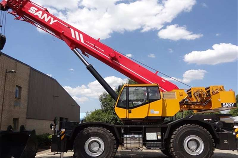 Sany Rough terrain New SRC550H Cranes