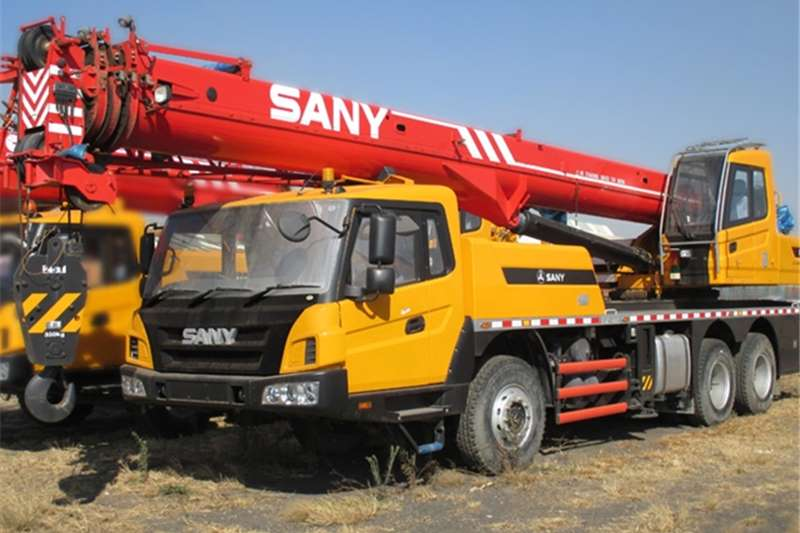 Sany Truck mounted New STC250 Cranes