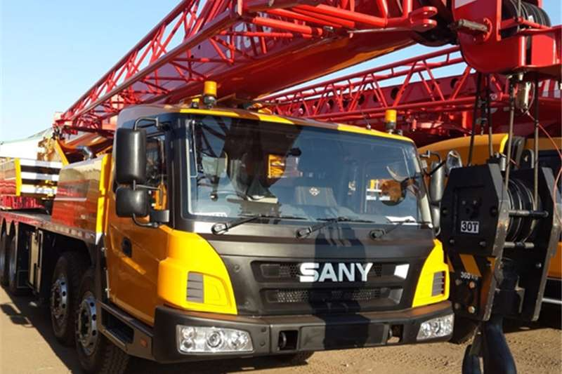 Sany Truck mounted New STC300 Cranes