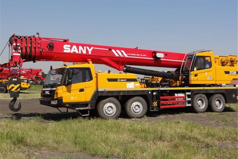 Sany Truck mounted New STC500 Cranes