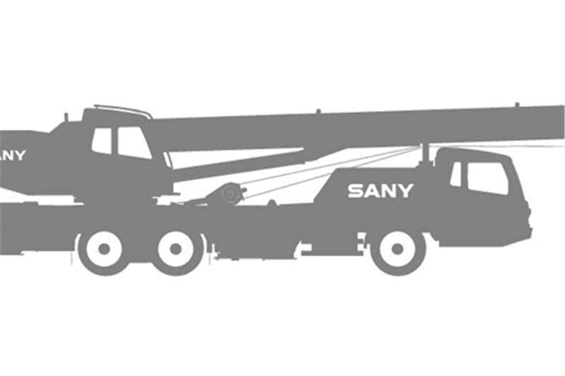 SANY Truck mounted USED STC500 Model Cranes