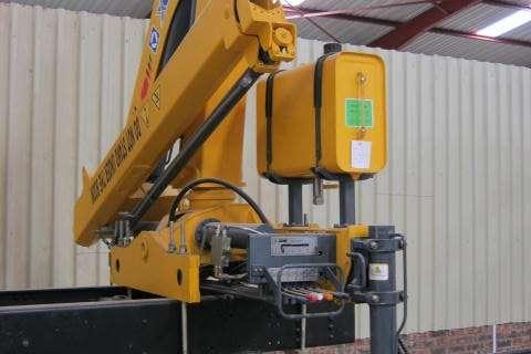 Sino Plant Attachment 7 Ton Meter Crane Cranes