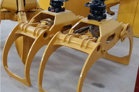 Sino Plant Attachment Log Handler (6 10 Tons) Cranes
