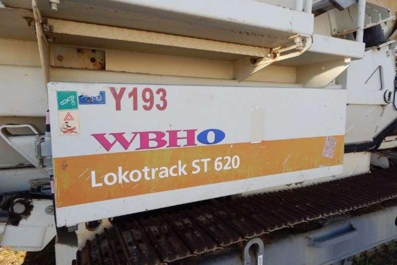 Metso Metso Lokotrack ST620 Track Mounted Triple Deck Sc Crushers