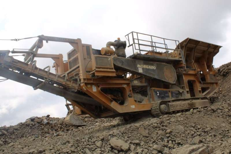 Crushers Other Tesab Impact Crusher RK 1012T 2004