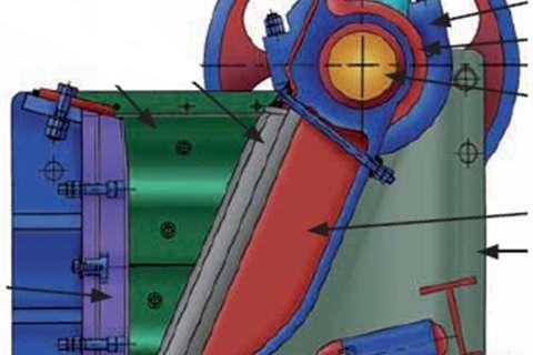 Sheffield 36 X 48 inch Jaw crusher Crushers