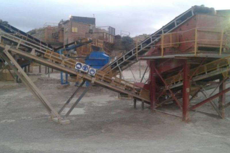 Telsmith Crushing & Screening Plant Crushers
