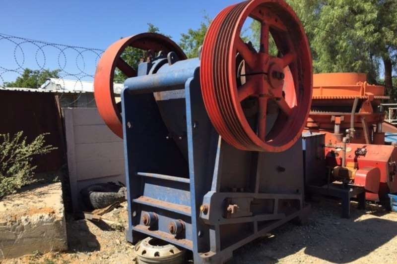 Crushers Telsmith Jaw Crusher 25x36 0