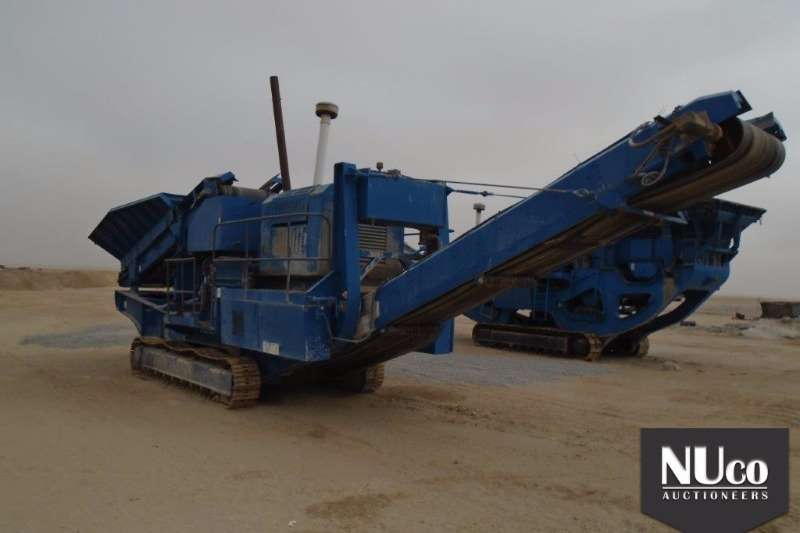 Terex TEREX PEGSON MAXTRACK 1000 MOBILE CONE CRUSHER Crushers