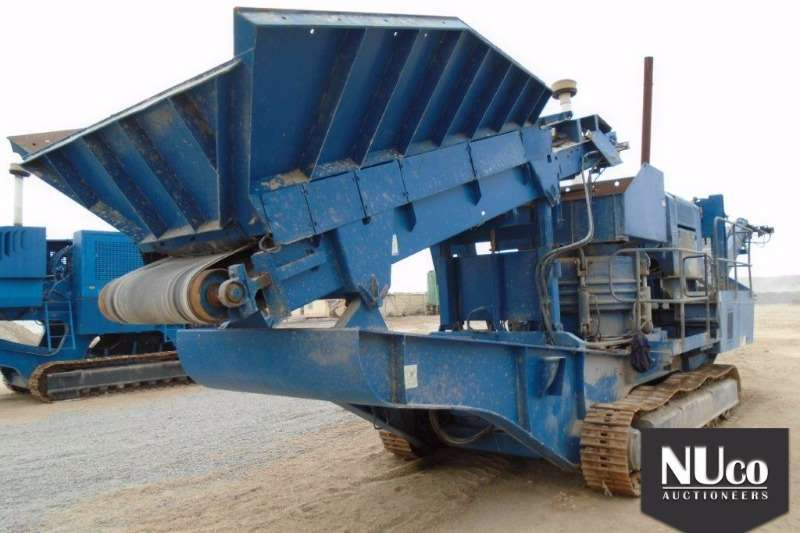 Crushers Terex TEREX PEGSON XR400 MOBILE JAW CRUSHER 2008