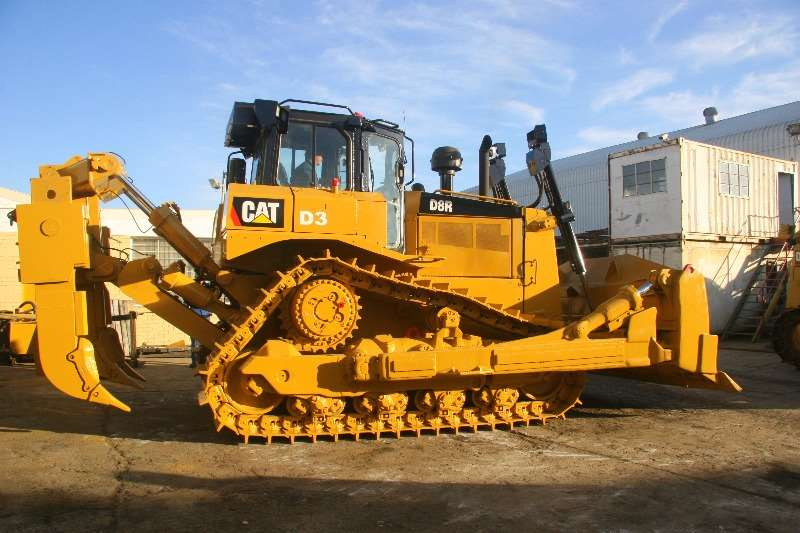 Caterpillar D8R; Auto Greasing System; SU Blade; Dozers