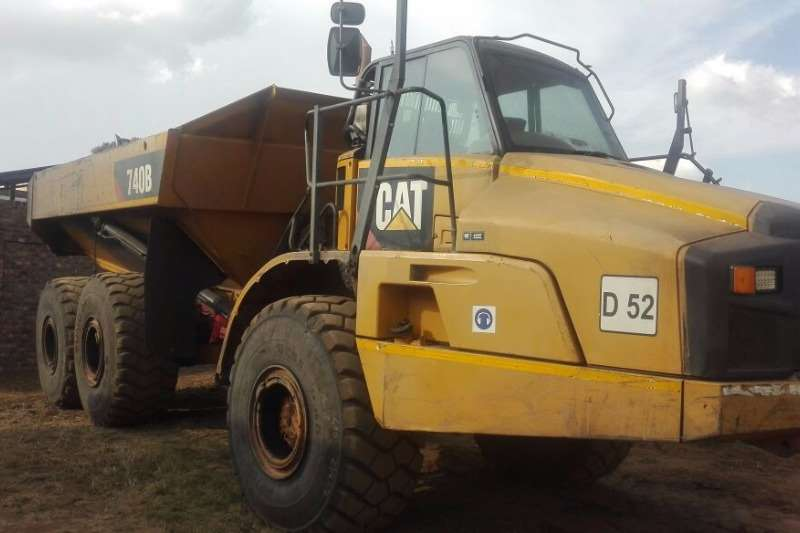 CAT 740B Dumpers