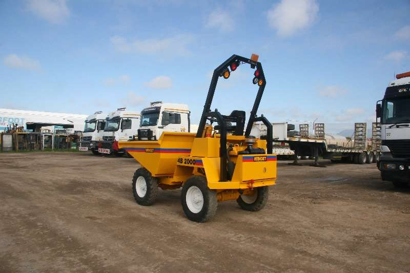 Other Winget 4B2000 Concrete Dumper. 4x4; Electric Start Dumpers
