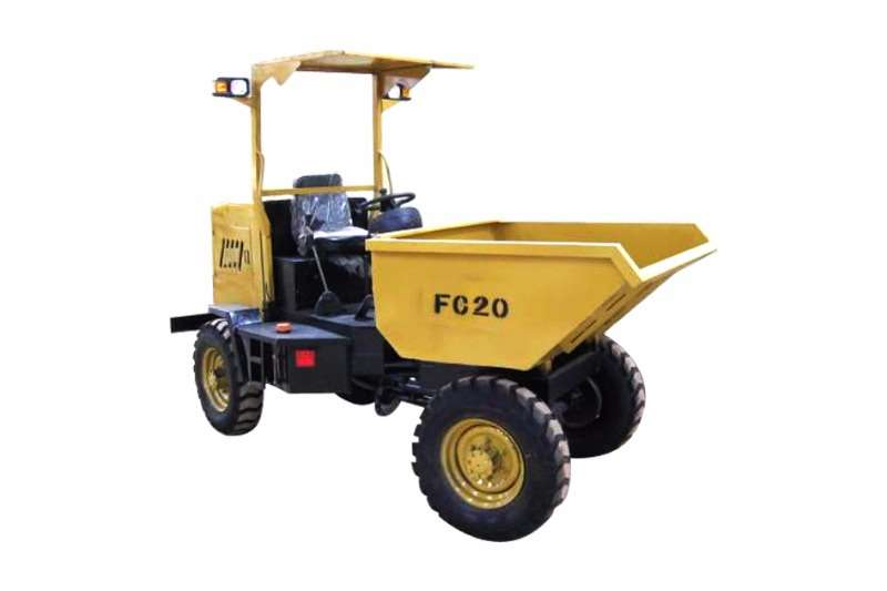 Dumpers Sino Plant 2 Ton Articulated Dumper - Hydraulic Tip & Canopy 2017