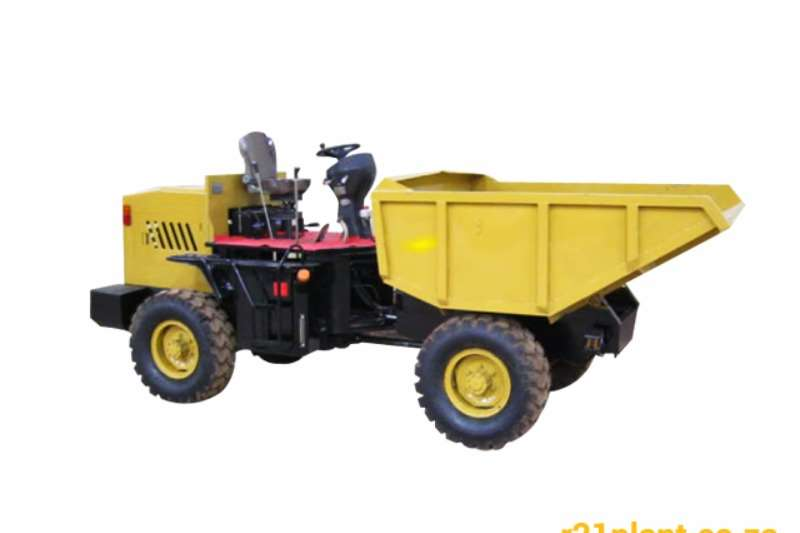 Sino Plant 4 Ton Articulated Dumper - Hydraulic Tip Dumpers